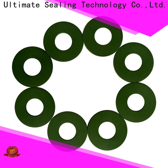 stable silicone gasket design for connecting parts
